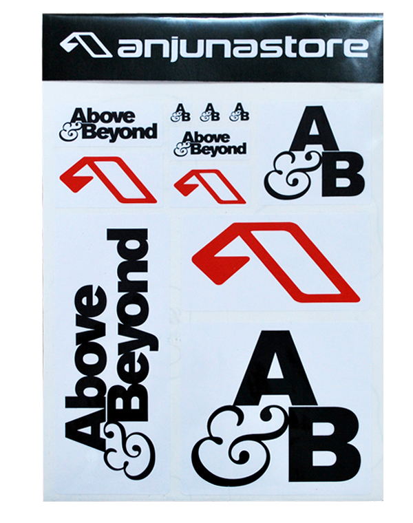 Above beyond stickers